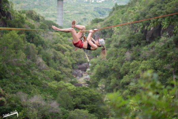 Coco en Highline à 3 Bassins - La Réunion 974