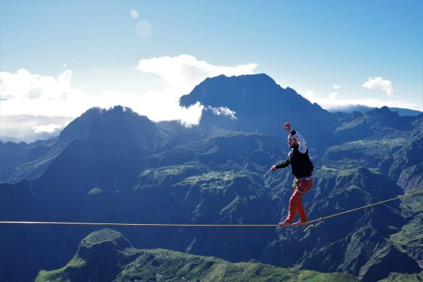 Highline au Maïdo - La Réunion 974