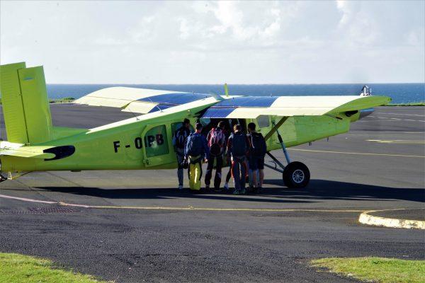 Repérage en avion - La Réunion 974