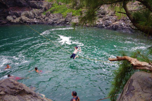 Nico à Bassin 18 - La Réunion 974