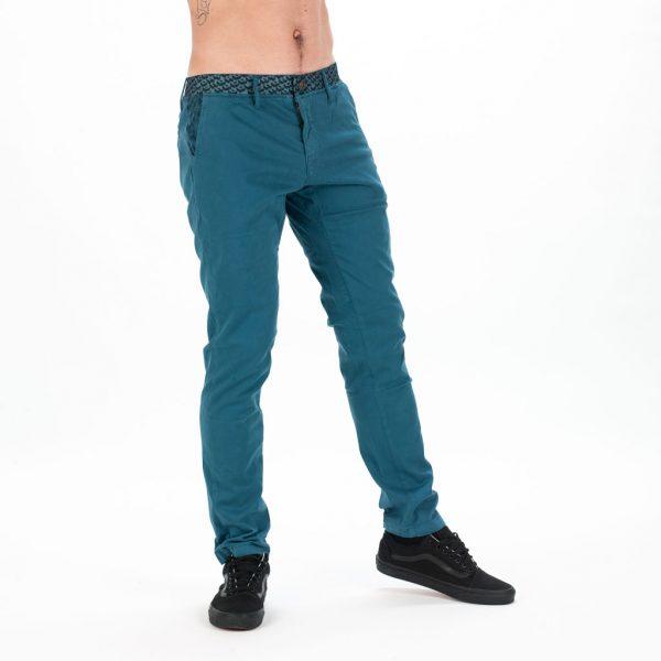 MEN FONZI PANT GREY BLUE