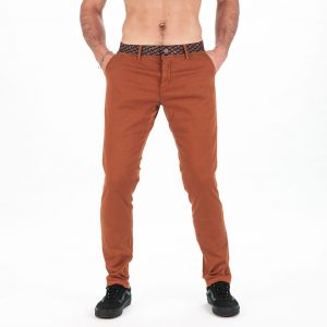 MEN FONZI PANT BRONZE