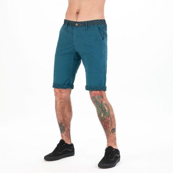 MEN FONZI SHORT GREY BLUE